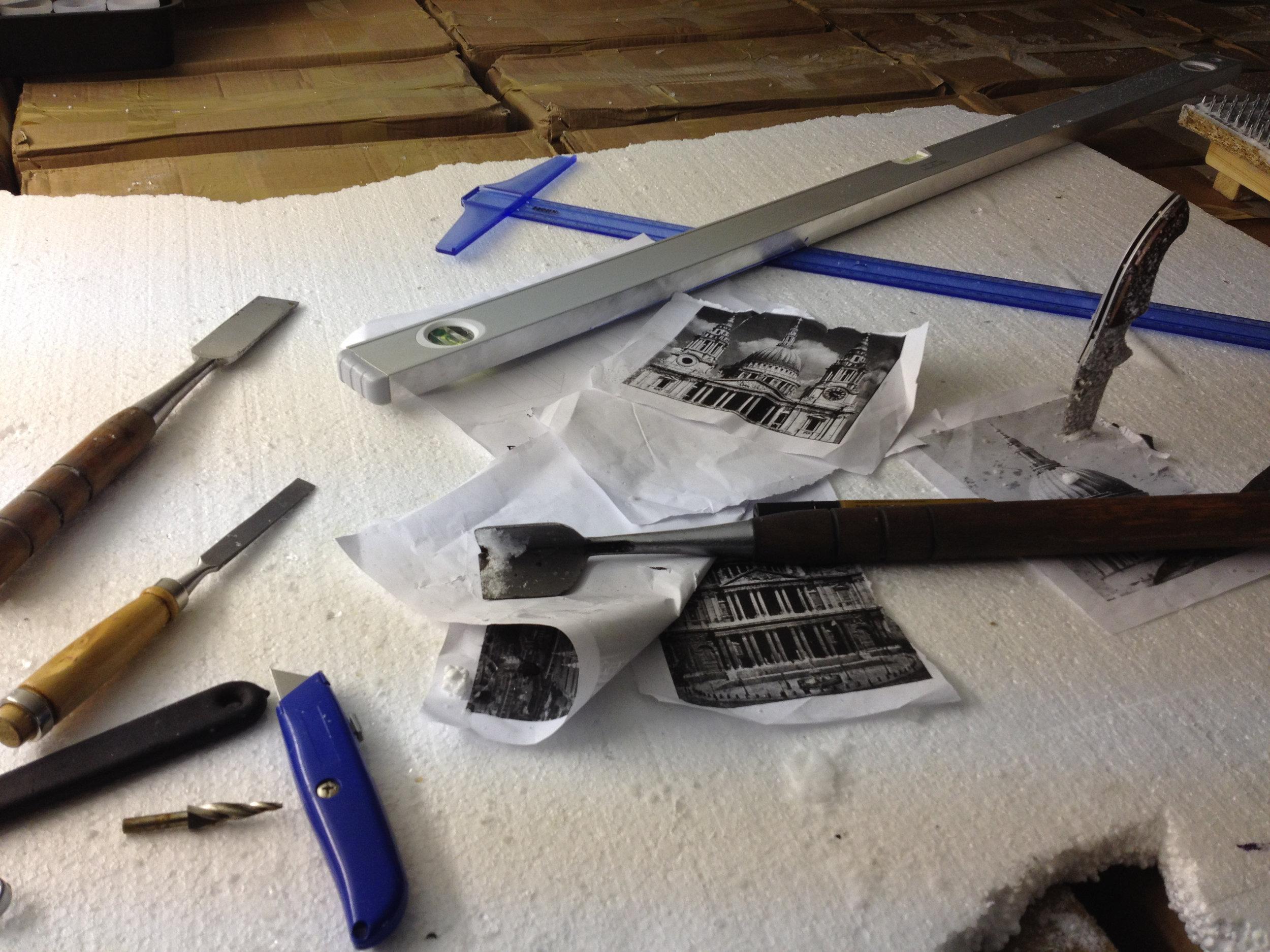 Preperation drawings & Tools