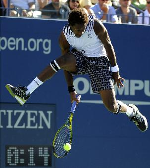 French professional tennis player, Gael Monfils. Photo: Getty Images