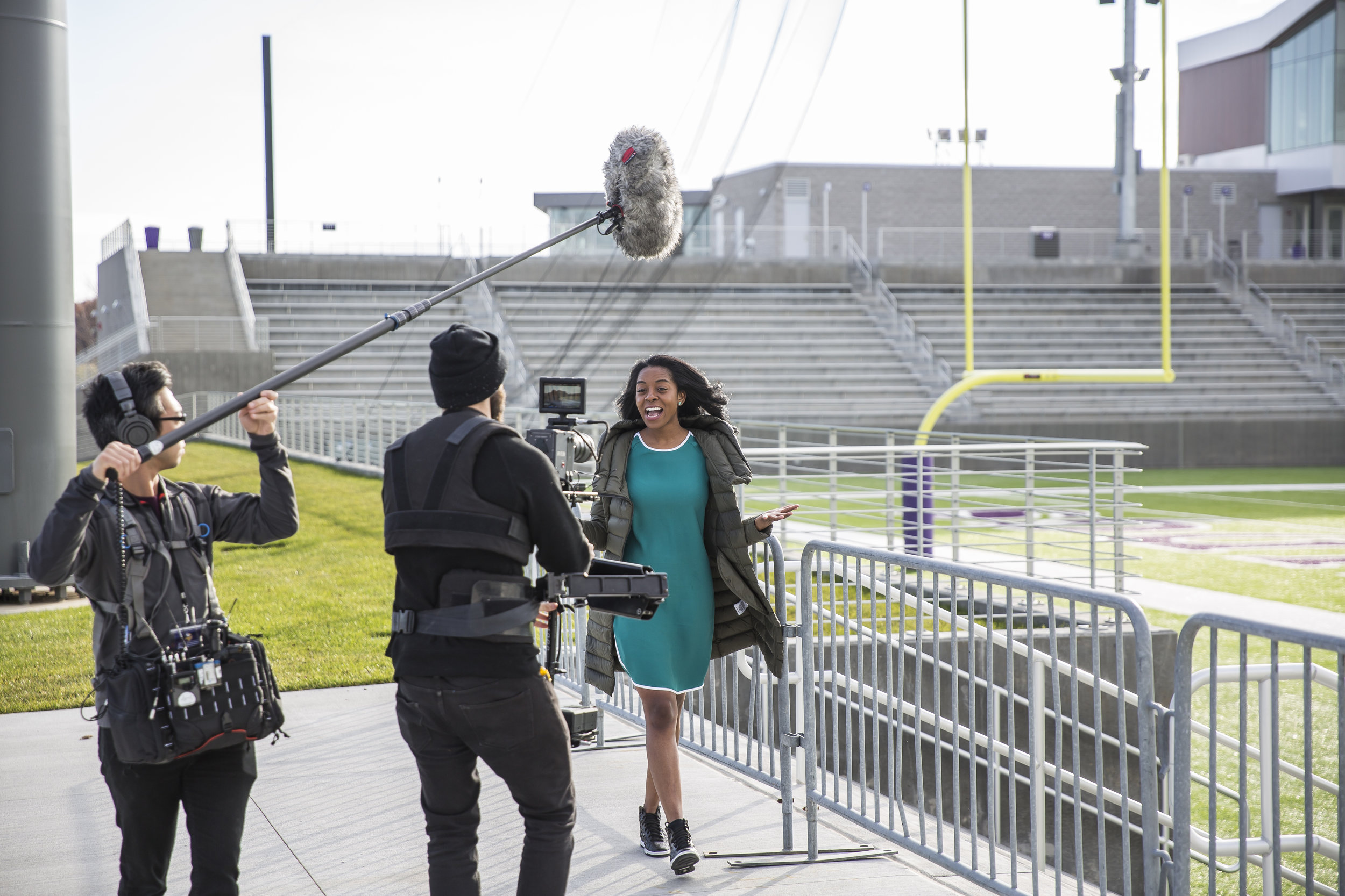 I was selected as the first-ever Courtyard NFL Global Correspondent where I uncovered the NFL fan experience in different cities. - LEARN MORE ABOUT MESEE MY WORK BELOW