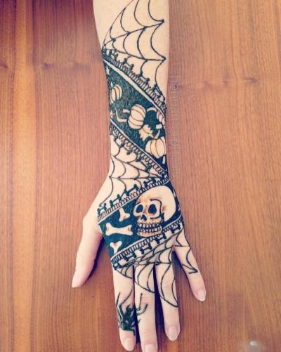 Samhain design to honor the ancestors