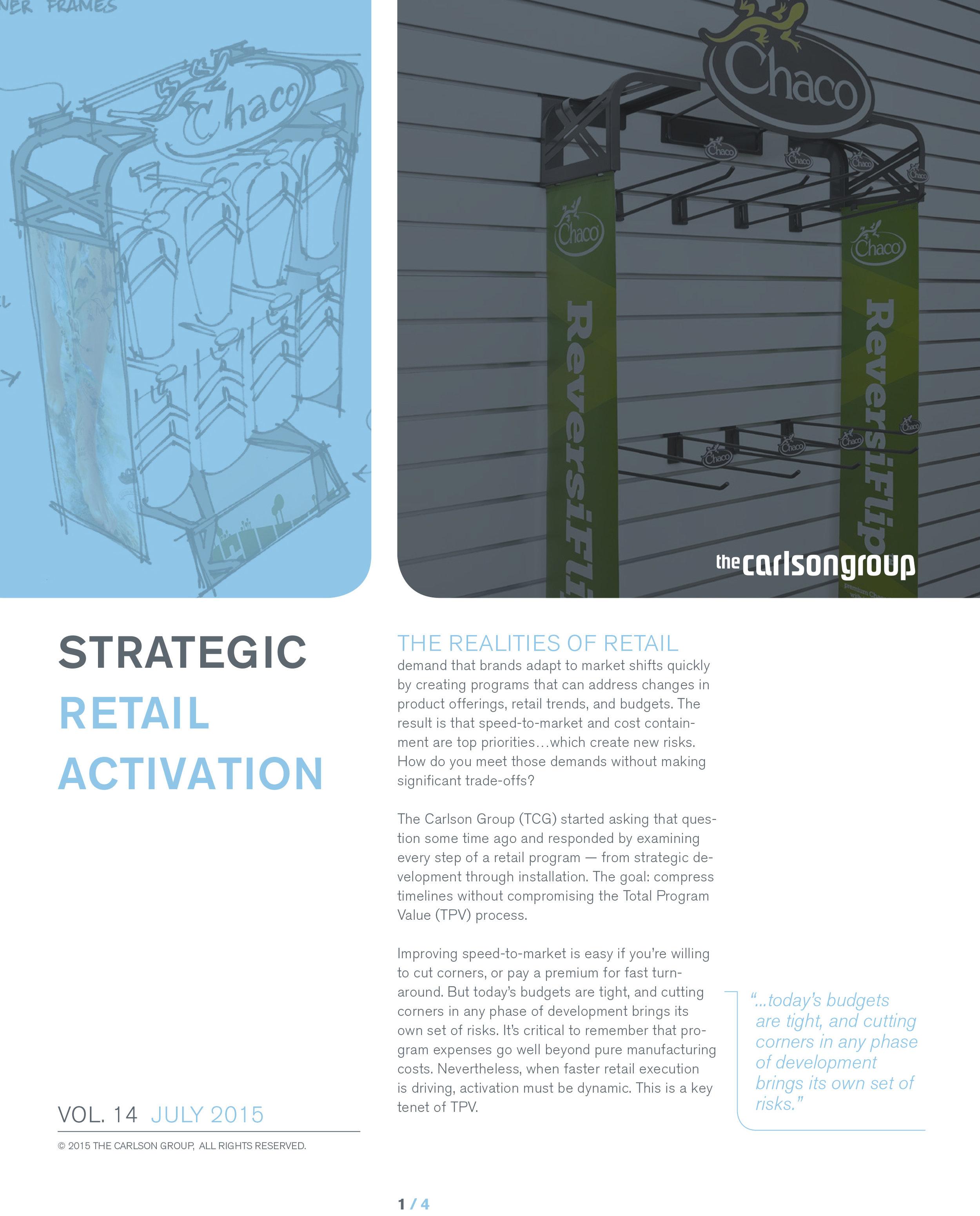 STRATEGIC RETAIL ACTIVATION