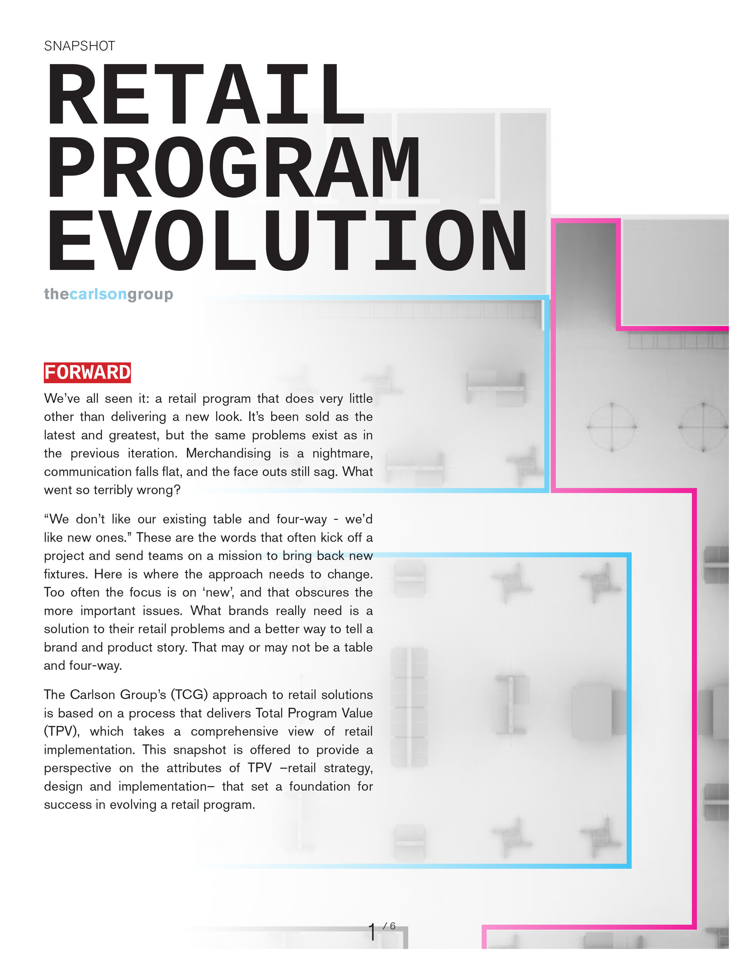 RETAIL PROGRAM EVOLUTION