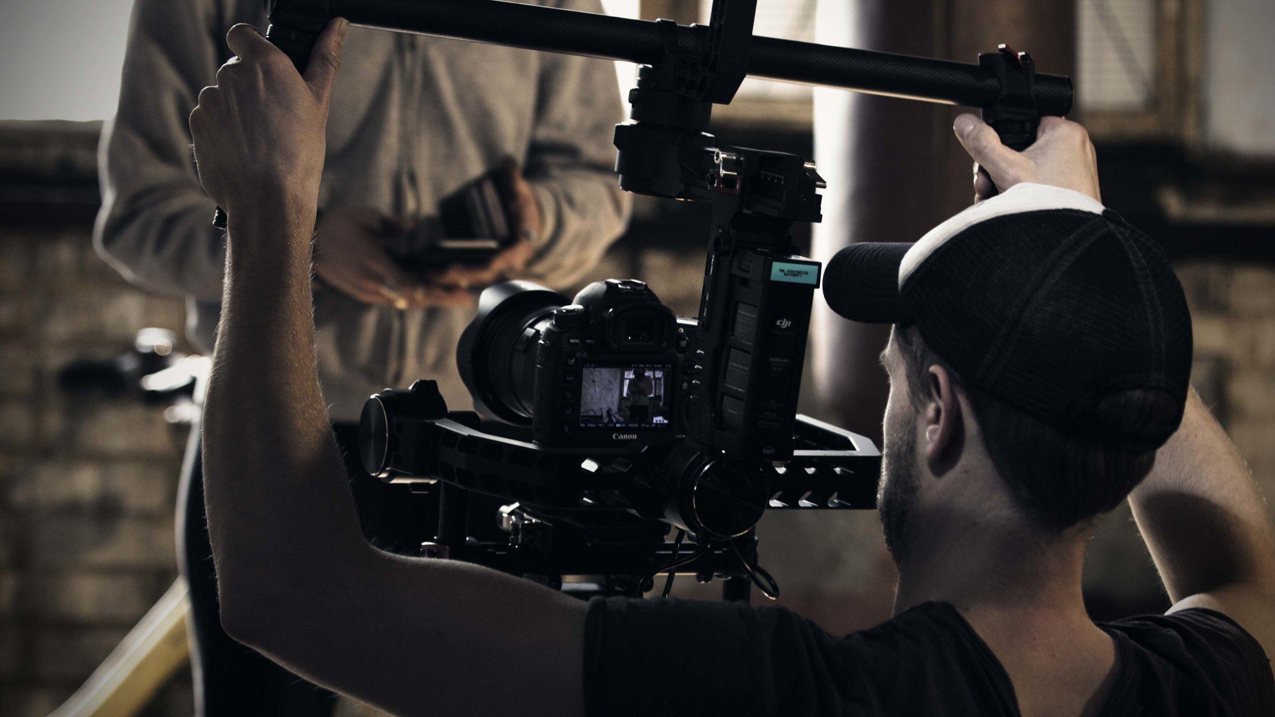 Video Production - Full video production including camera operators, editors and directors