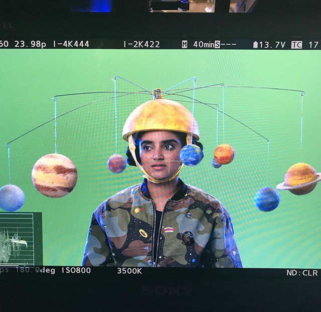 #BRAINCHILD is out now on @Netflix and we are super excited to show off some of the colorful props and sets that the @fabshopnyc built for them. This solar system hat is OUTTA THIS WORLD🚀🚀 It's a great show, you can check it out today!