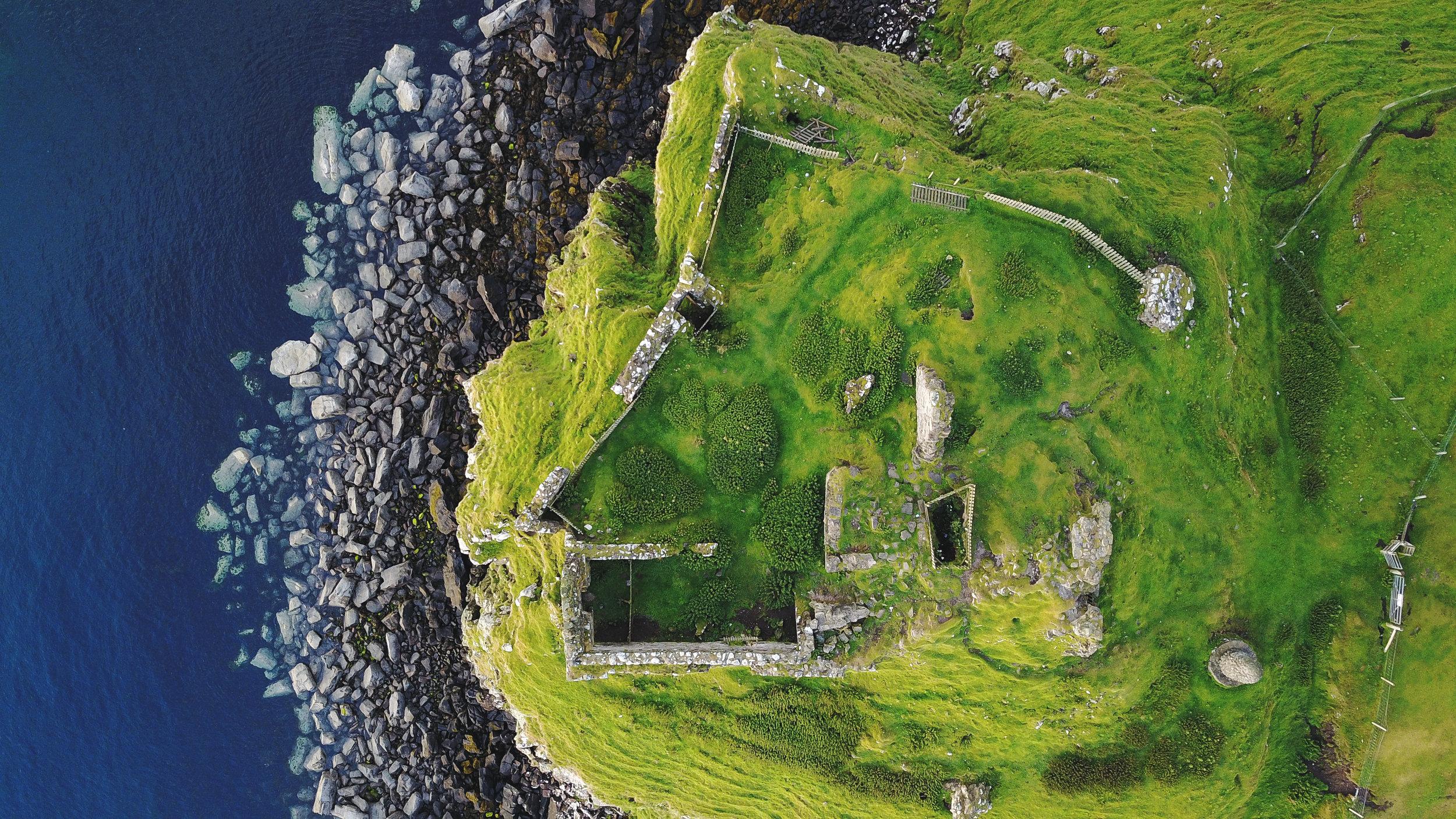 Duntulm ruins, Isle of Skye, August 2017