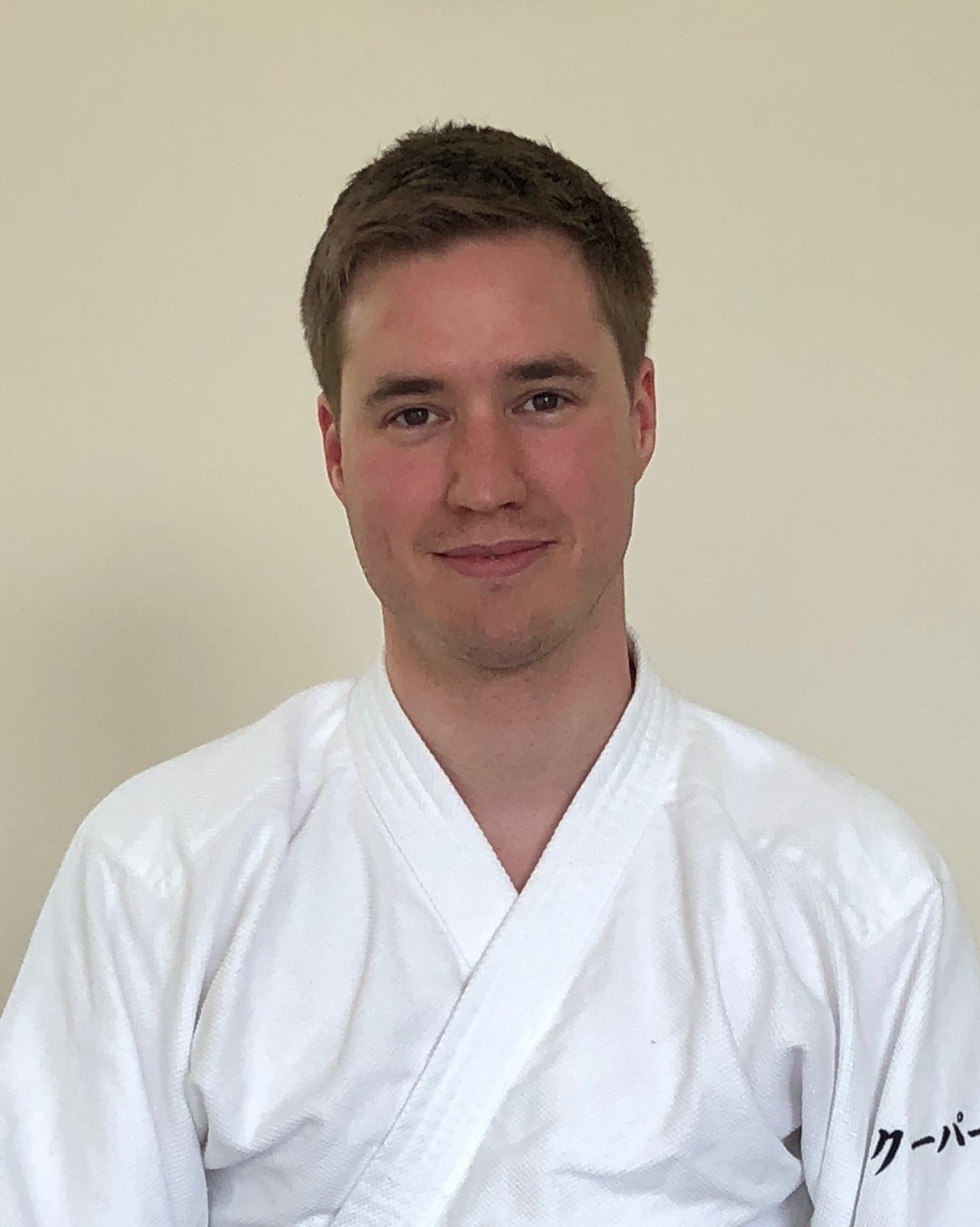 Adam Cooper Sensei 1st Dan  Central London Club Teacher