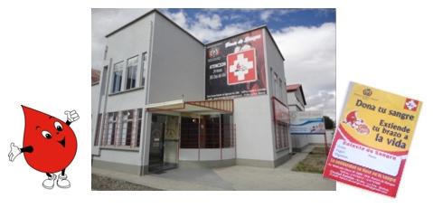 La nouvelle Banque de Sang à El Alto, au-dessus de La Paz
