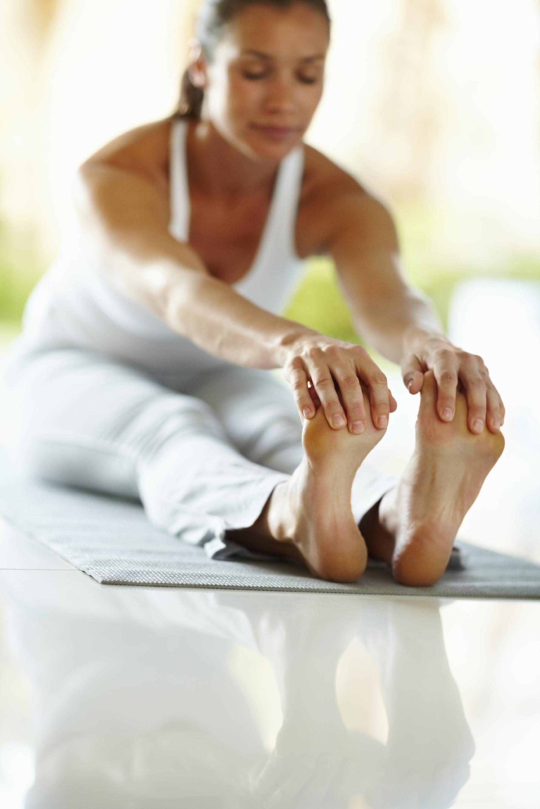 Yoga Übung bei Krebstherapie
