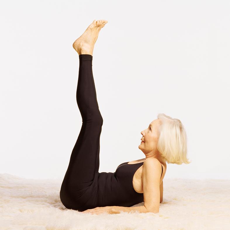 Yoga-Übung für 50+