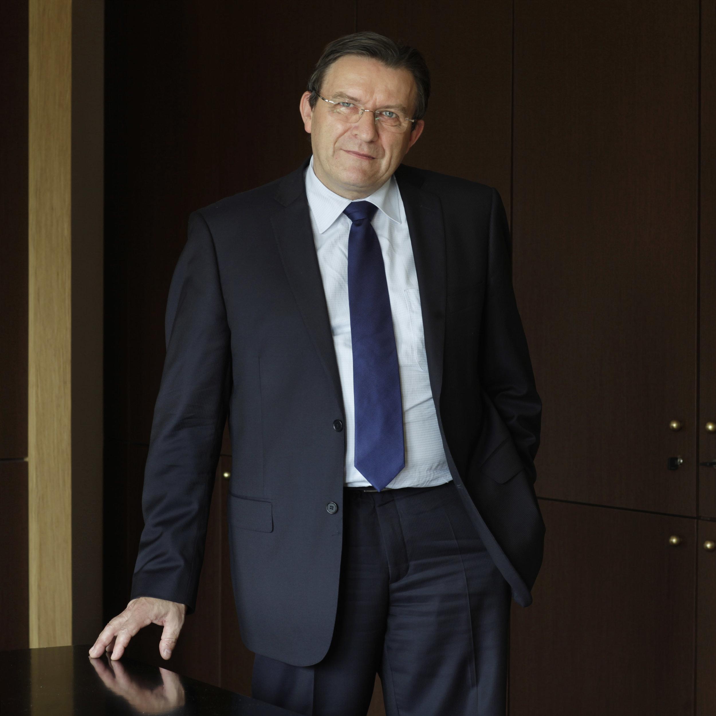 François Macé, directeur général du Crédit agricole Nord de France