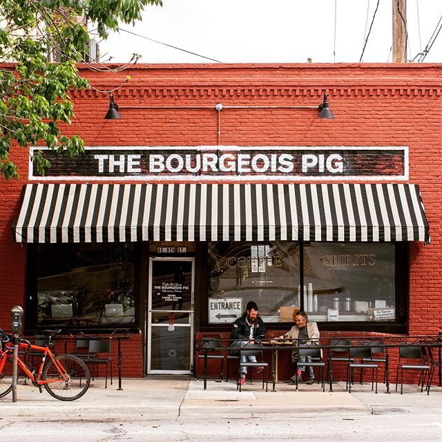 "New story live, link in comments! ""The more people on a local level we can involve with what we're doing here, the better,"" says The Bourgeois Pig's Ryan Pope. . ."