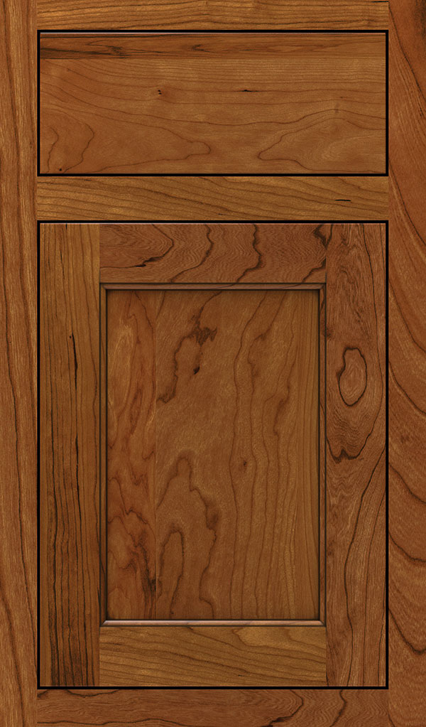 wood type: cherry    finish: sienna coffee