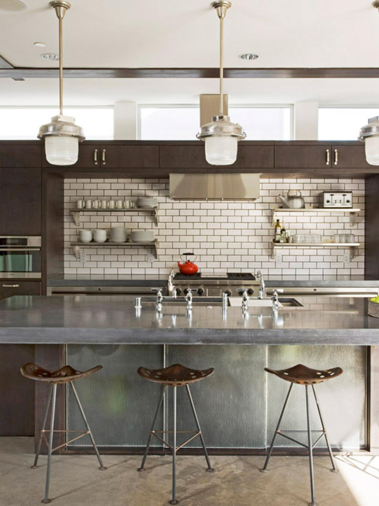 When Industrial Meets County: Eclectic Kitchens — Platinum ...
