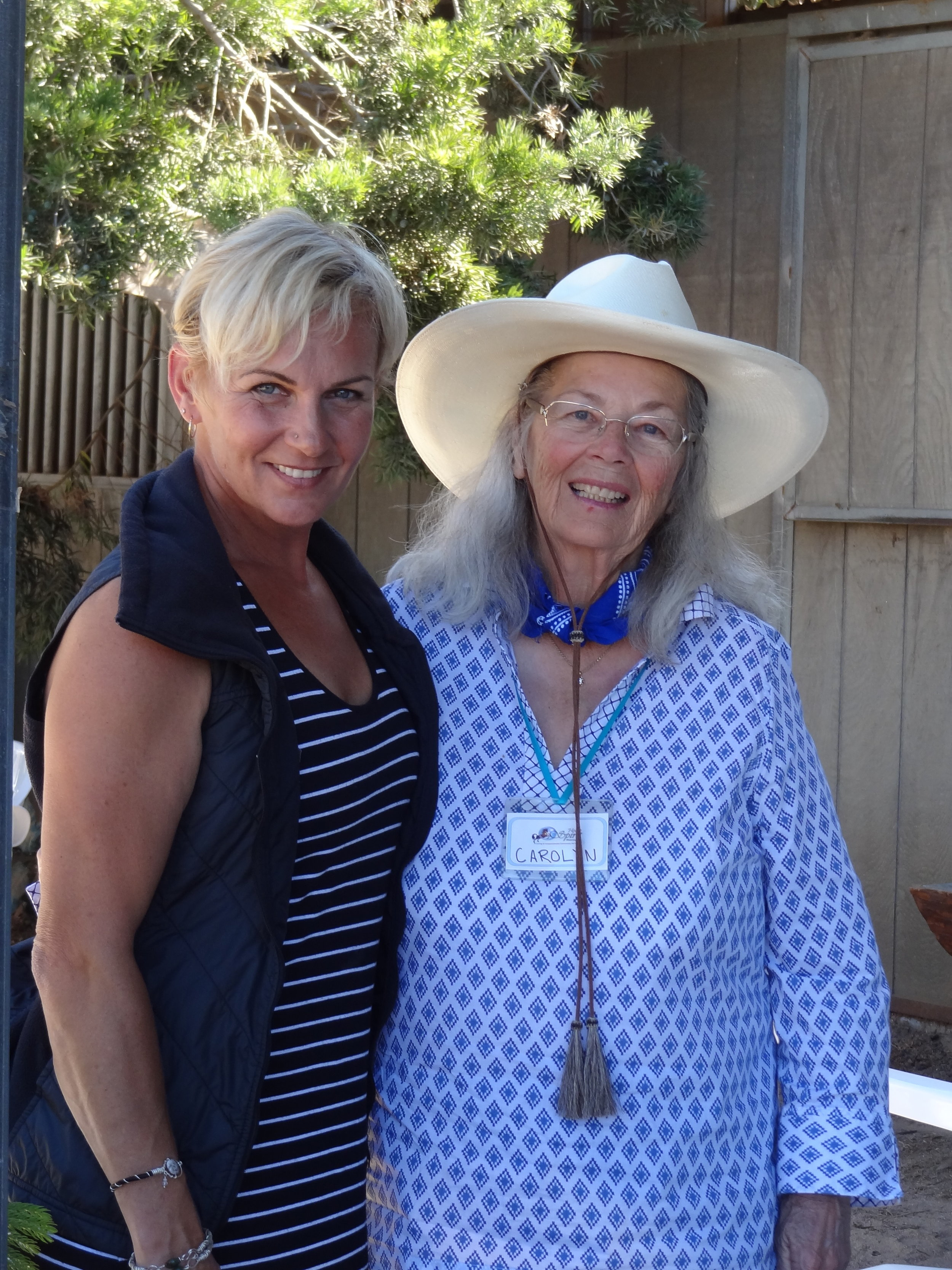 Carolyn Resnick, Sylvia Zerbini. Photo by Lori Brown Smith.JPG