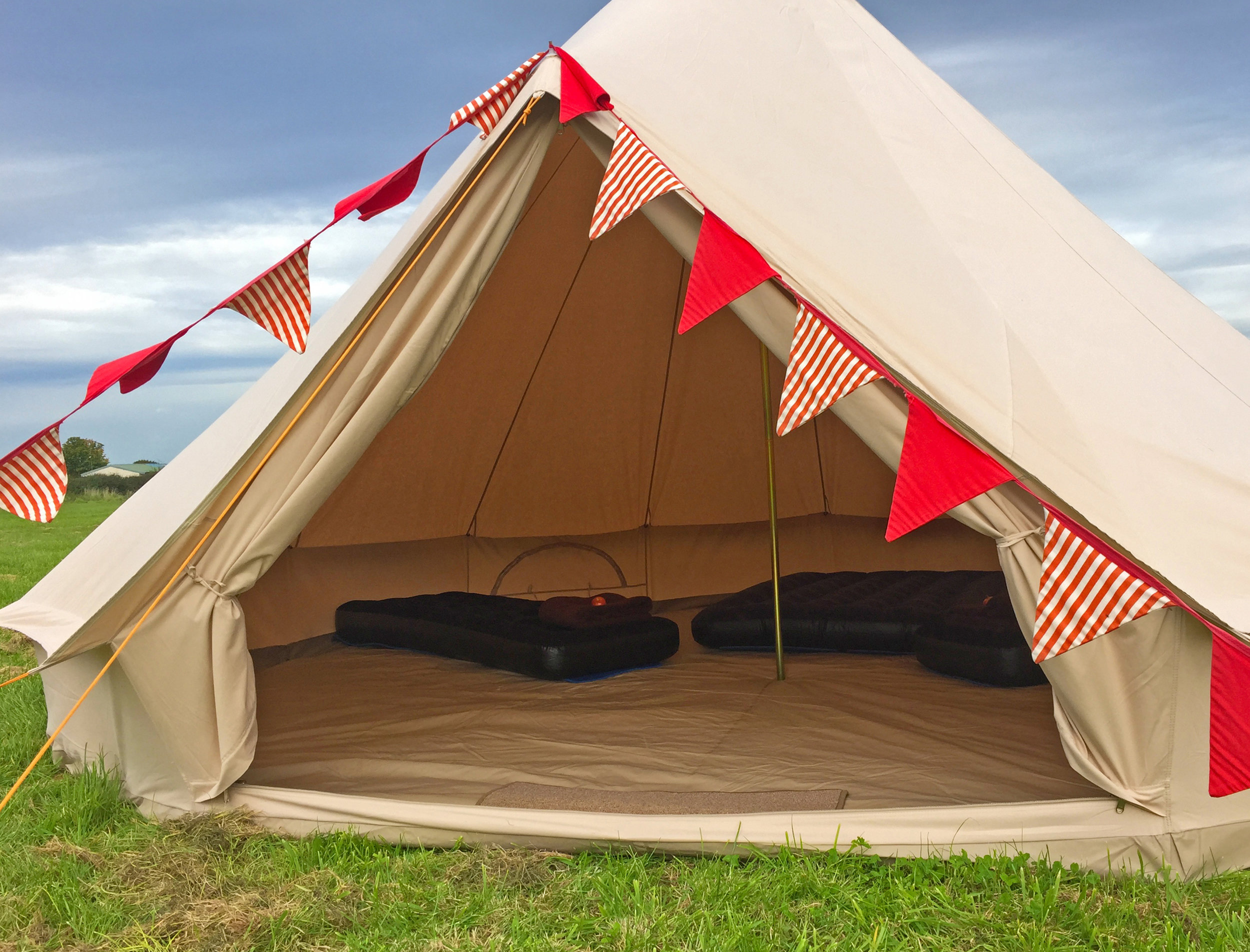 Our Stunning Bell-Tents