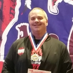 Chris Chrenbery - I would like to thank Coach Rhonda Glick and Kelsie Minder from Kettlebell Hot Spot for their never-ending passion and commitment to us. I value their time and knowledge as well as the friendships I've developed. Thank you for encouraging me to come to the Arnold in Columbus!