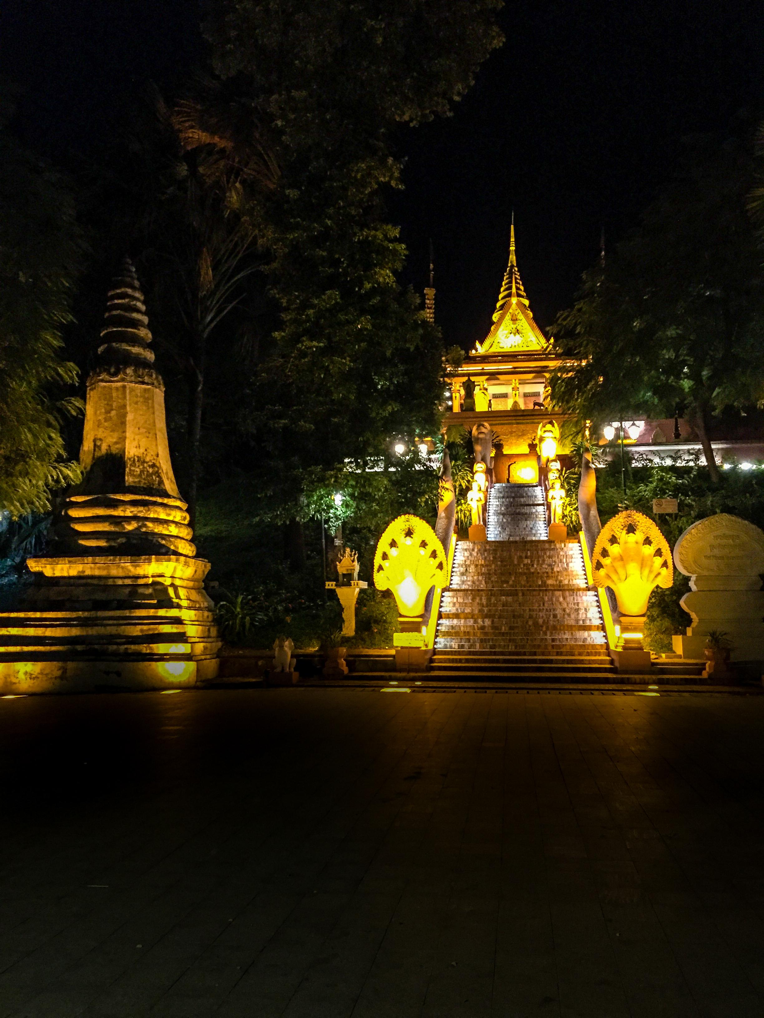 A beautiful Park in Phnom Penh, Cambodia