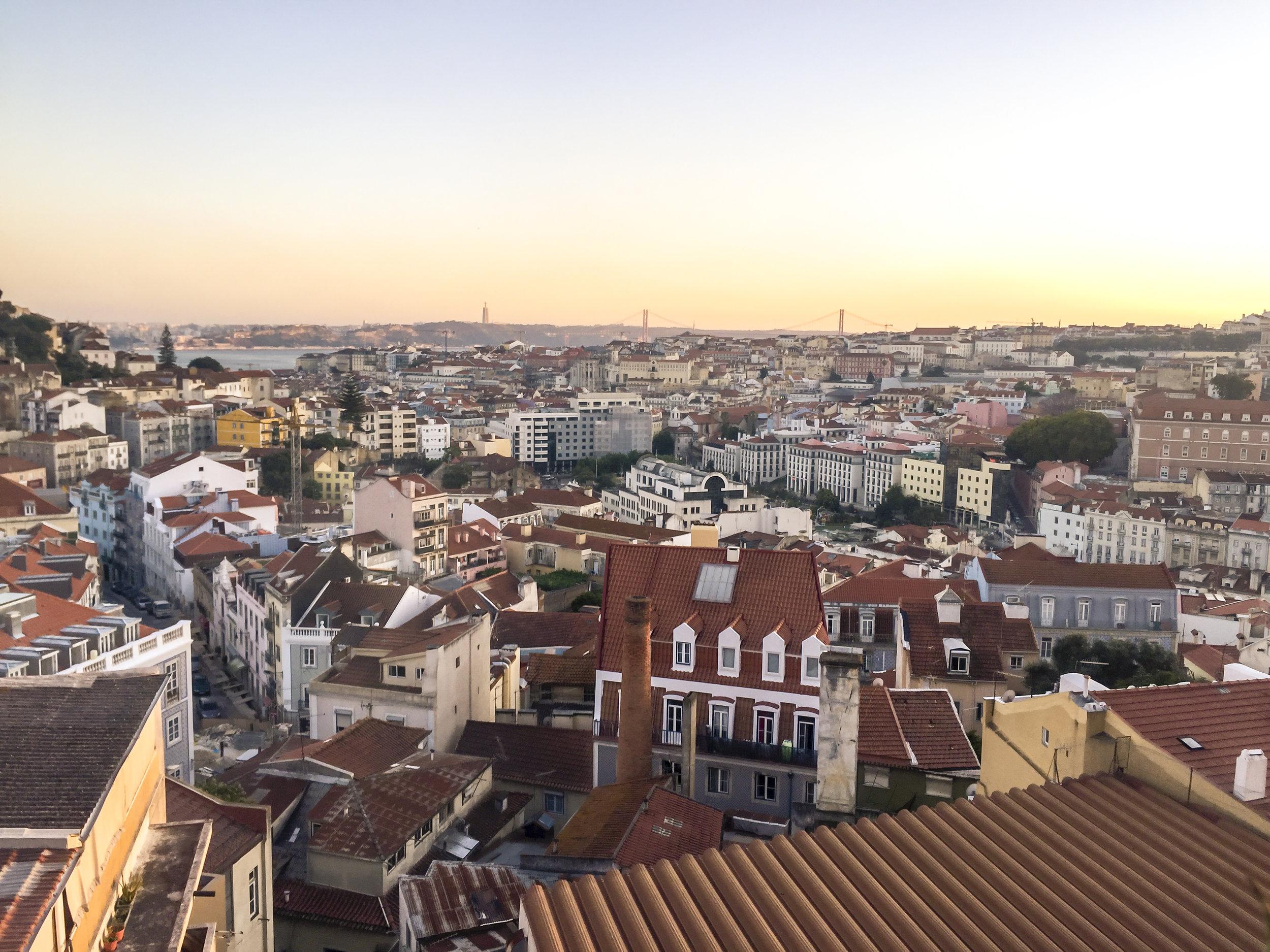 Views from Via Graca Restaurant!