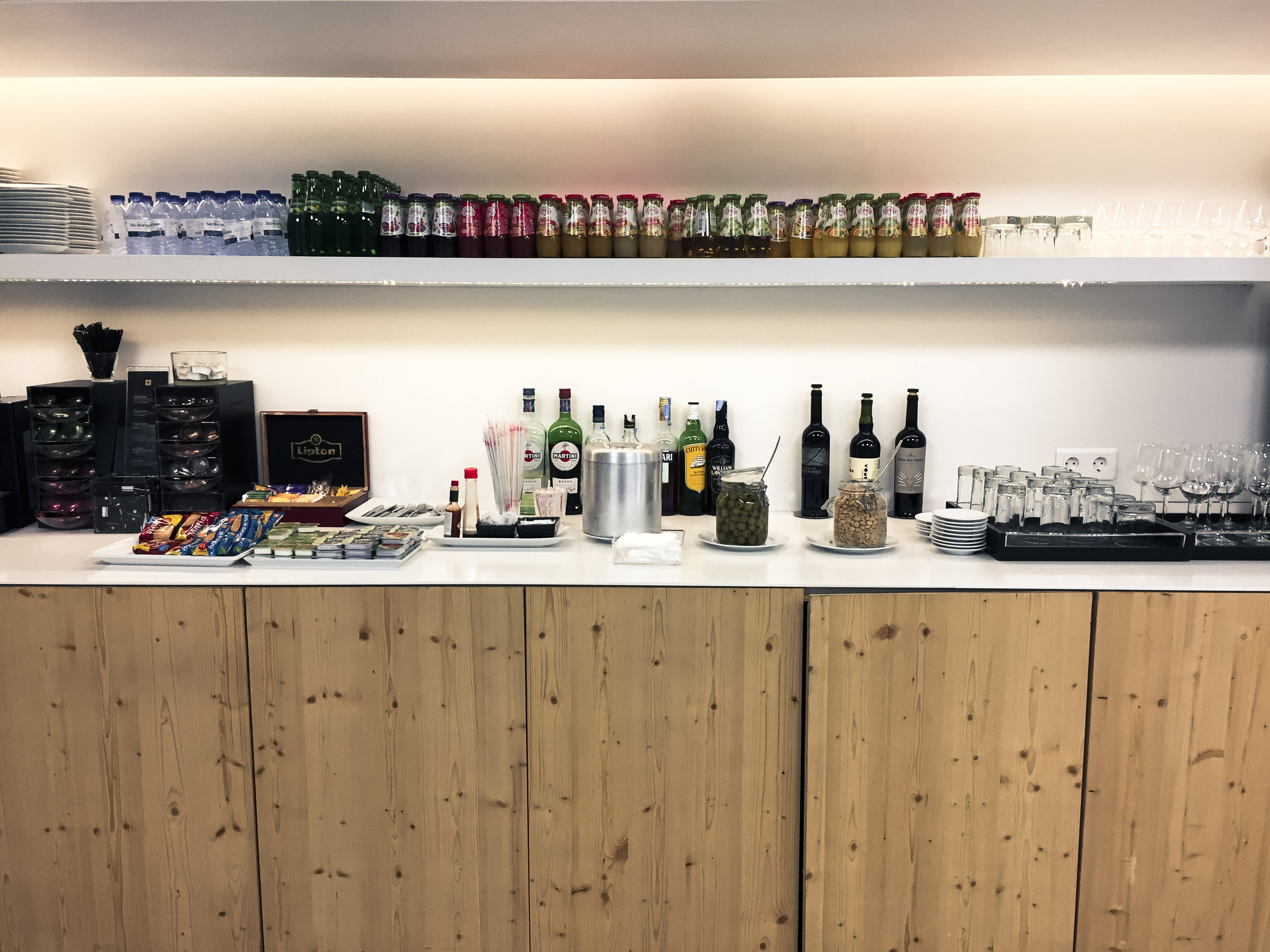 Food and Drink selection