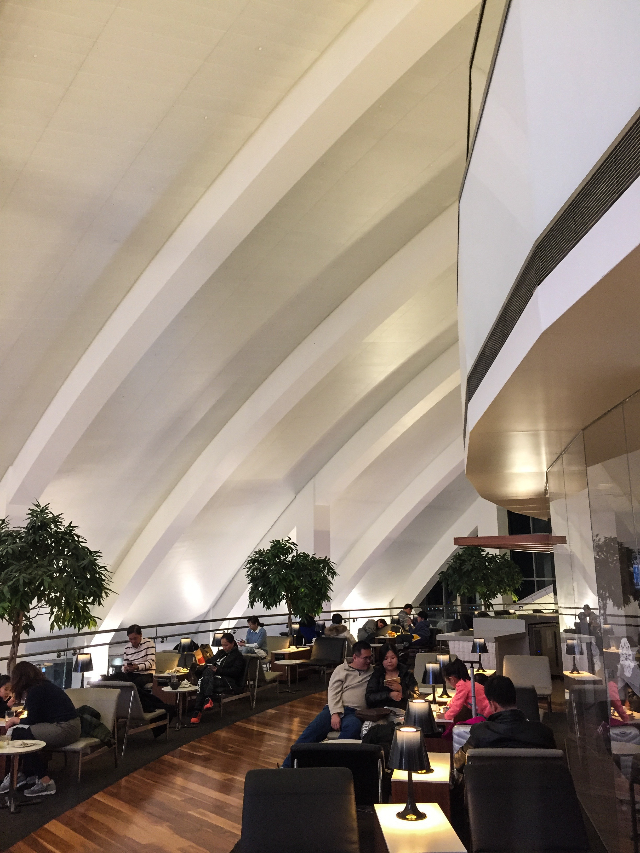 Star Alliance Lounge LAX Indoor Terrace