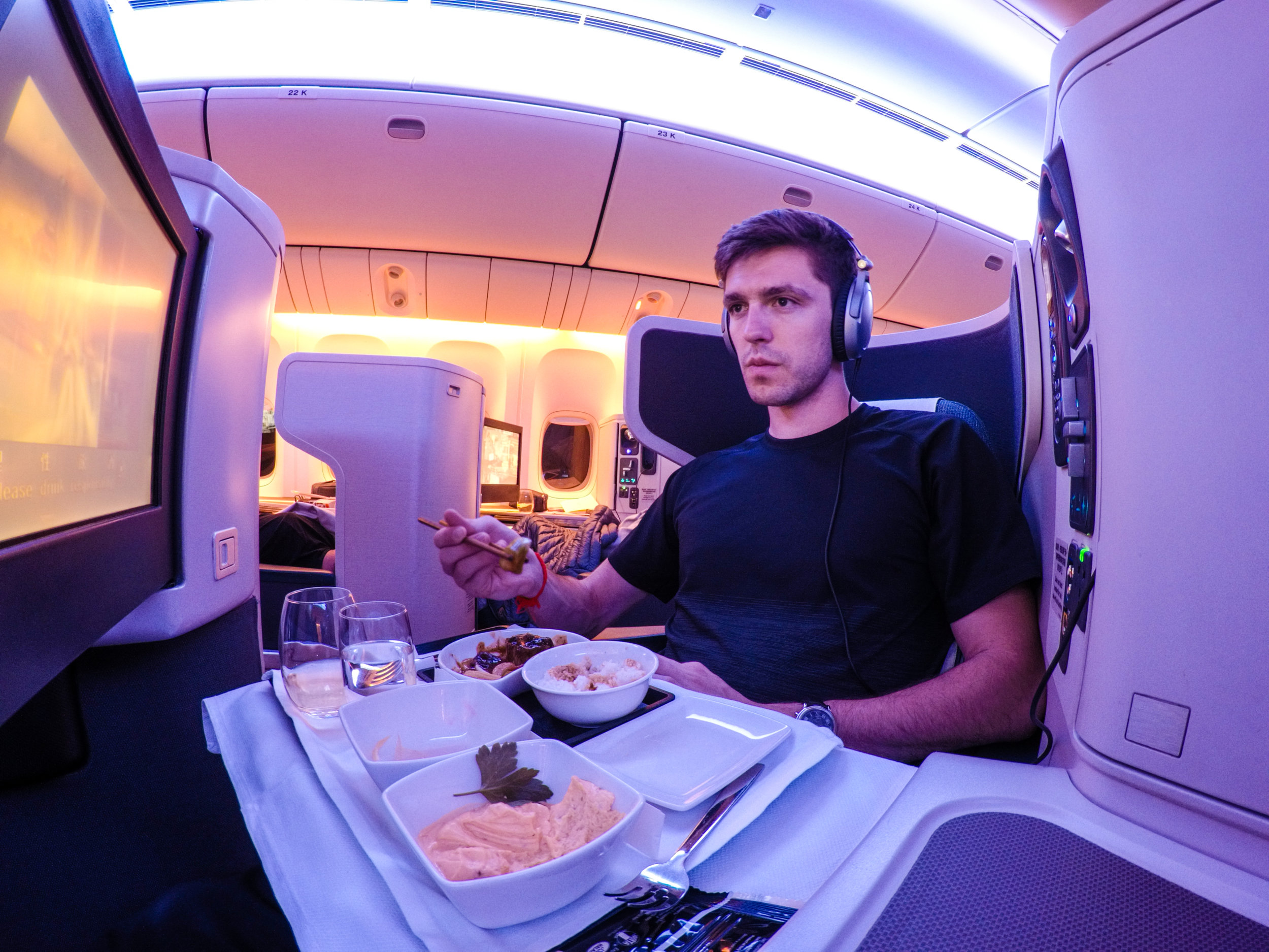 Flight Review - Checkout a comprehensive review of Cathay Pacific Business Class HKG-LAX