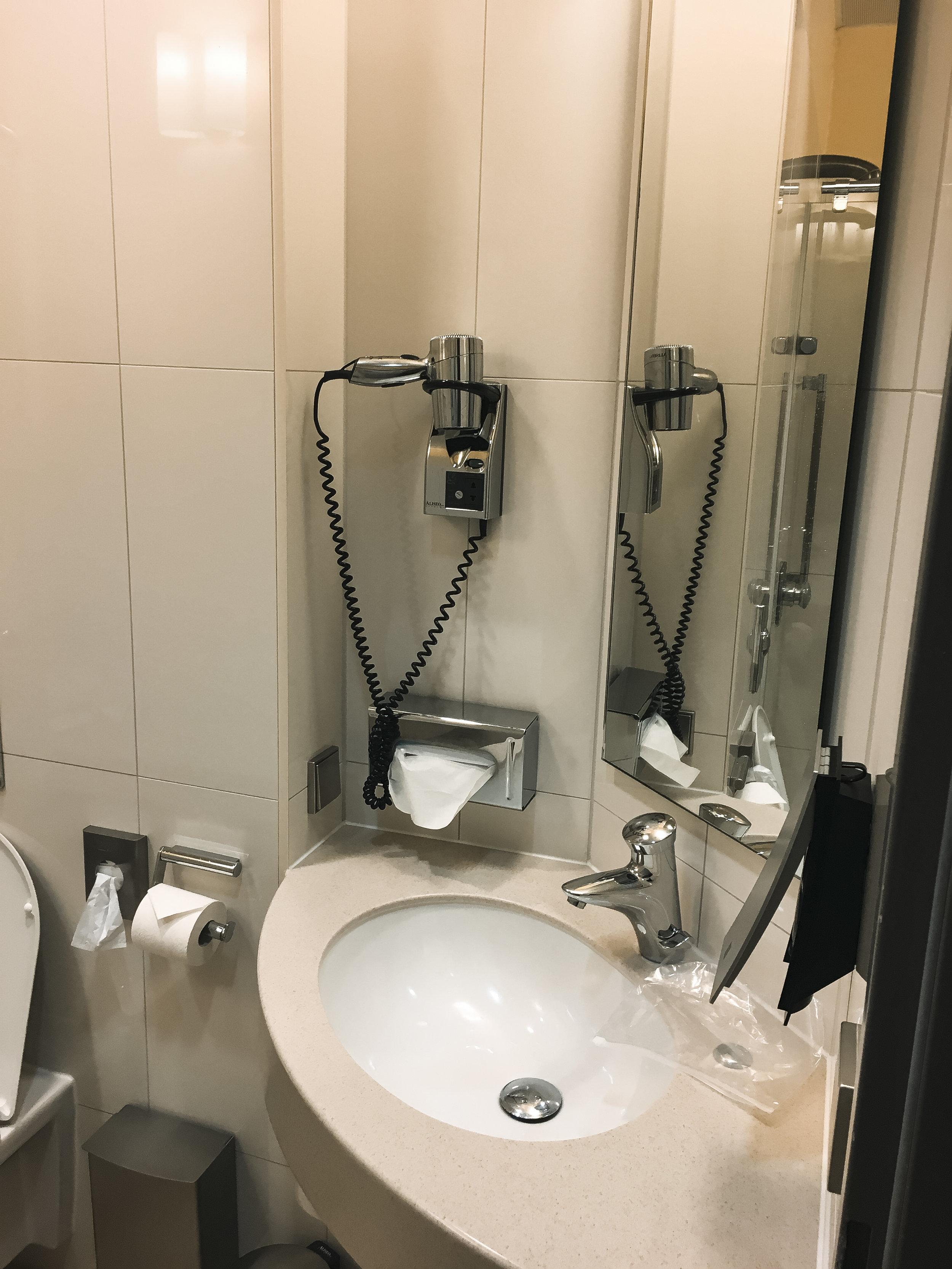 Frankfurt Lounge Bathroom