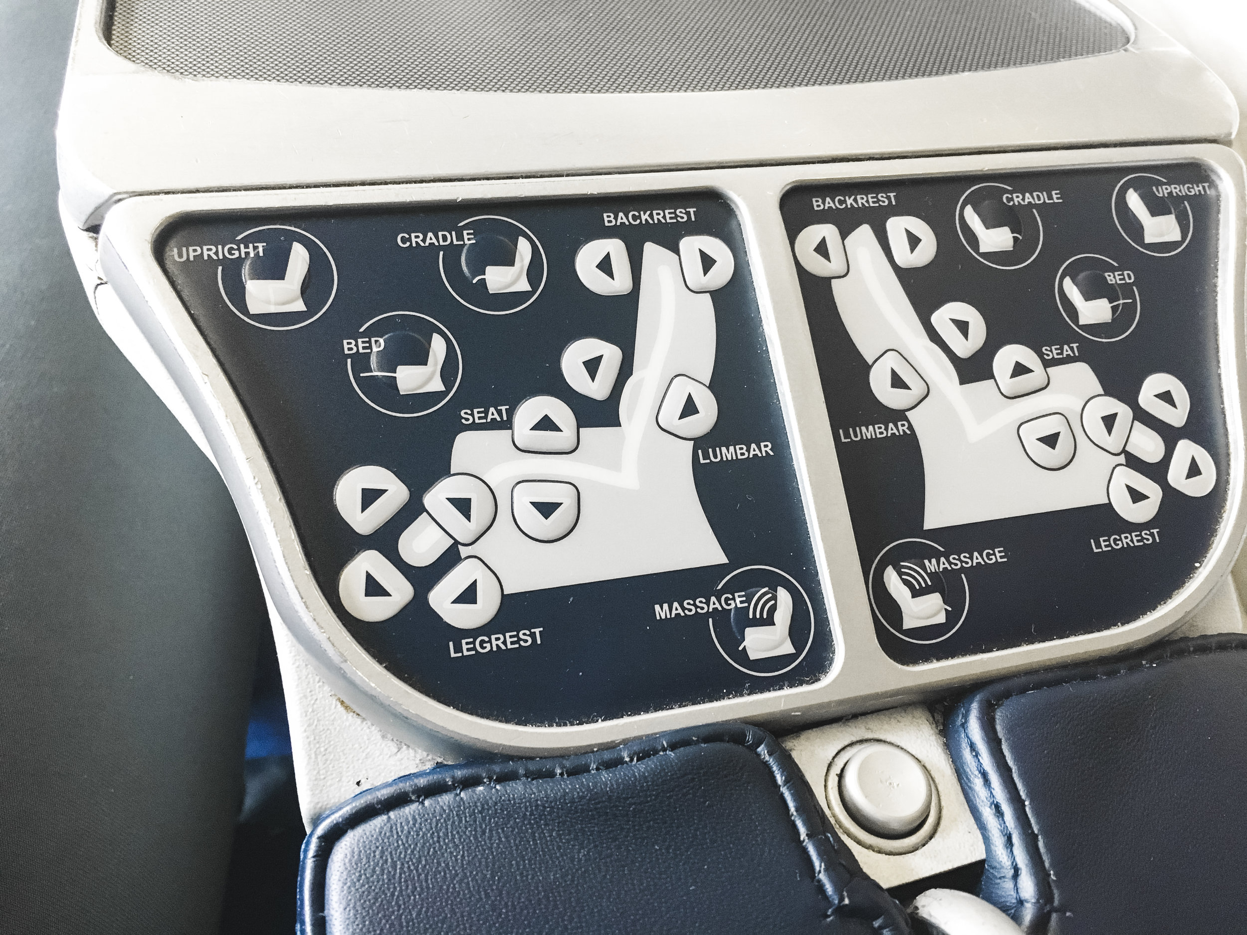 Seat controls. well used, to put it lightly.