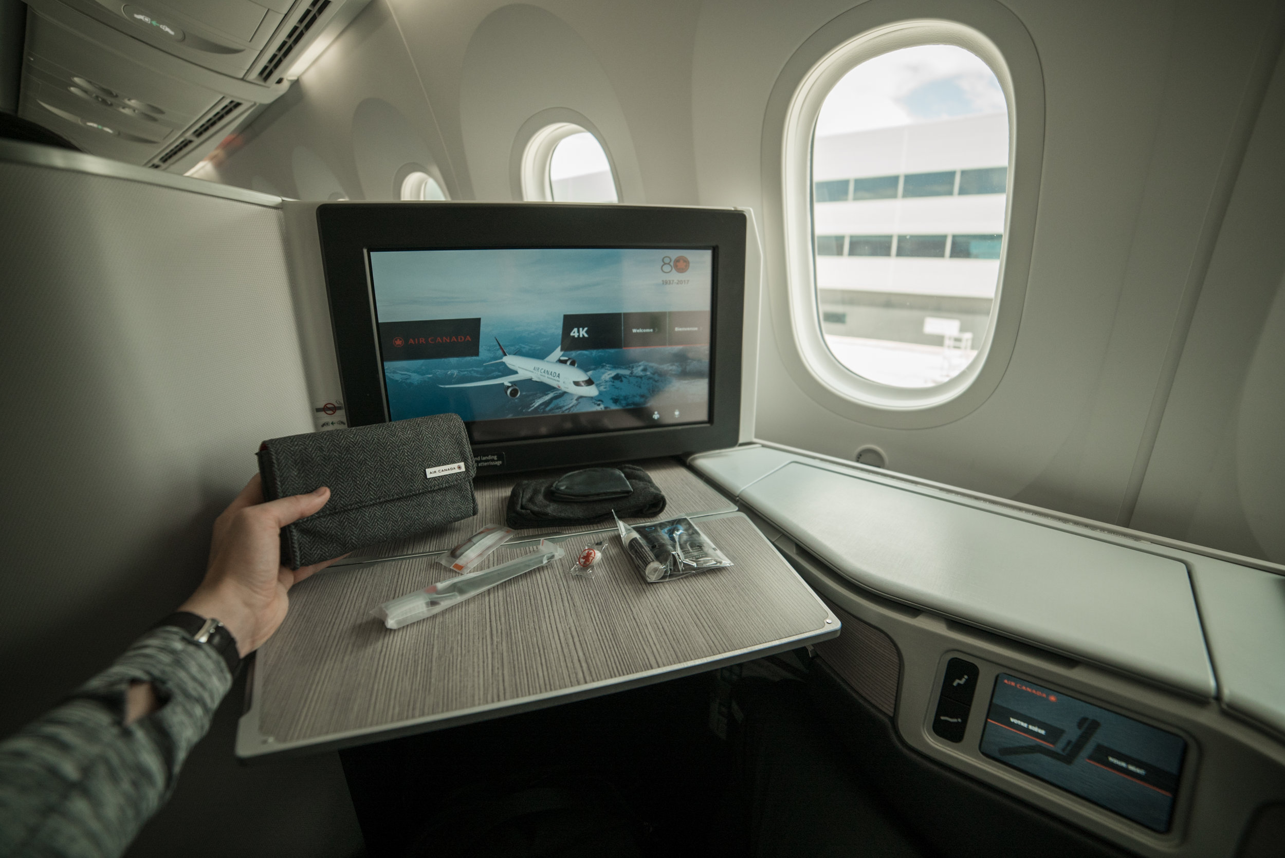 Flight Review - Read up on our incredible Air Canada Business Class experience onboard their new 787-9!