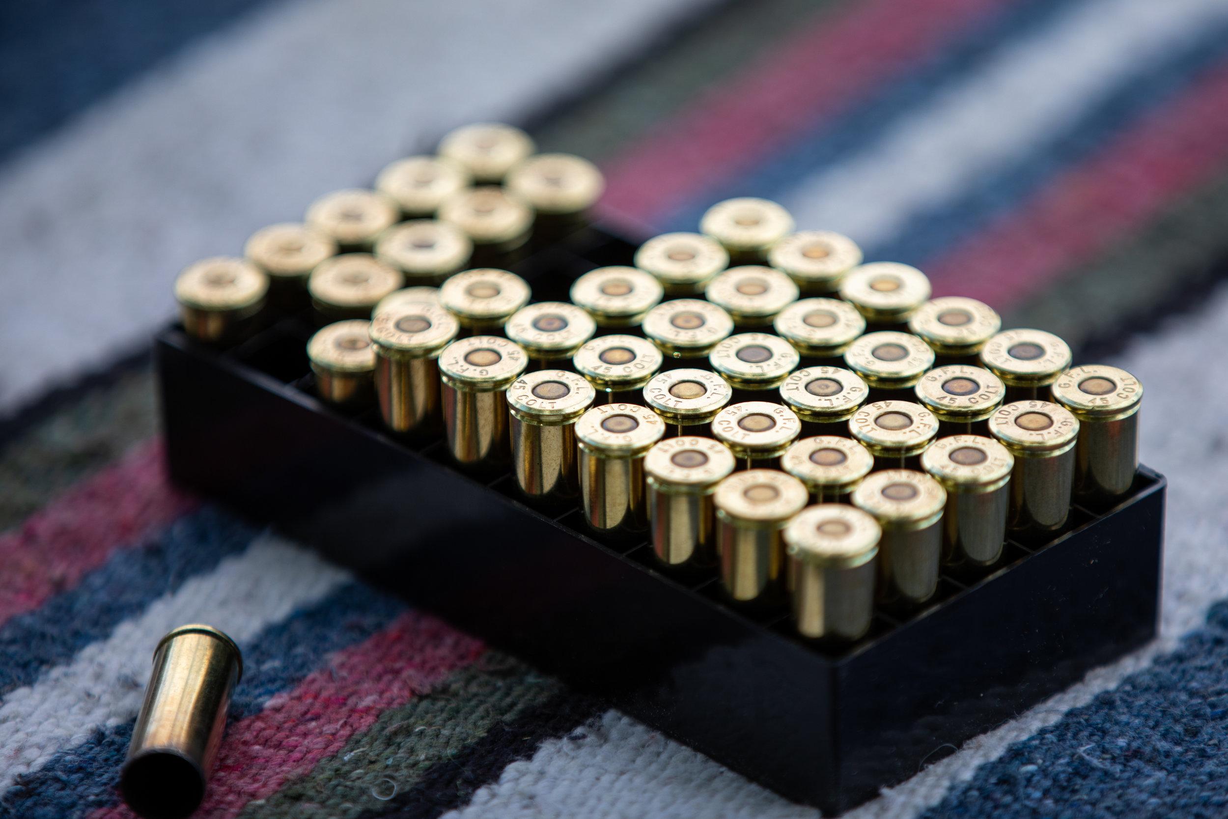 Shooting range setup