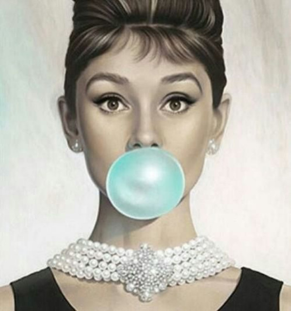 When we think of pearls, we think of Audrey Hepburn.