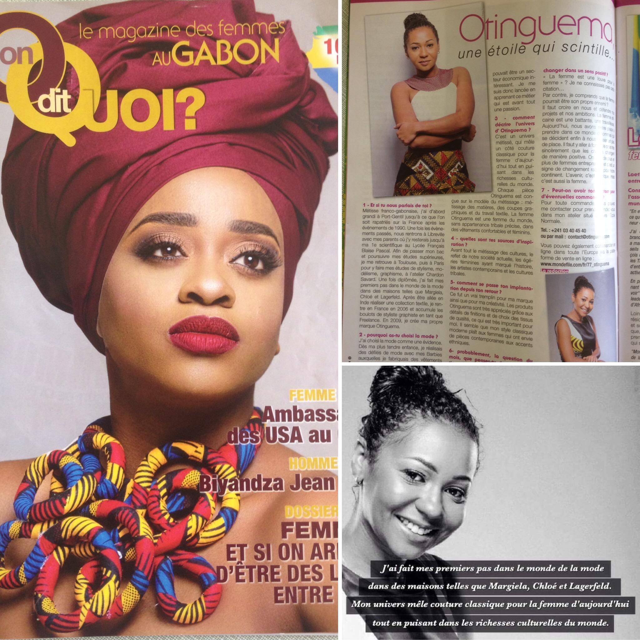 On Dit Quoi Magazine - Apr. 16