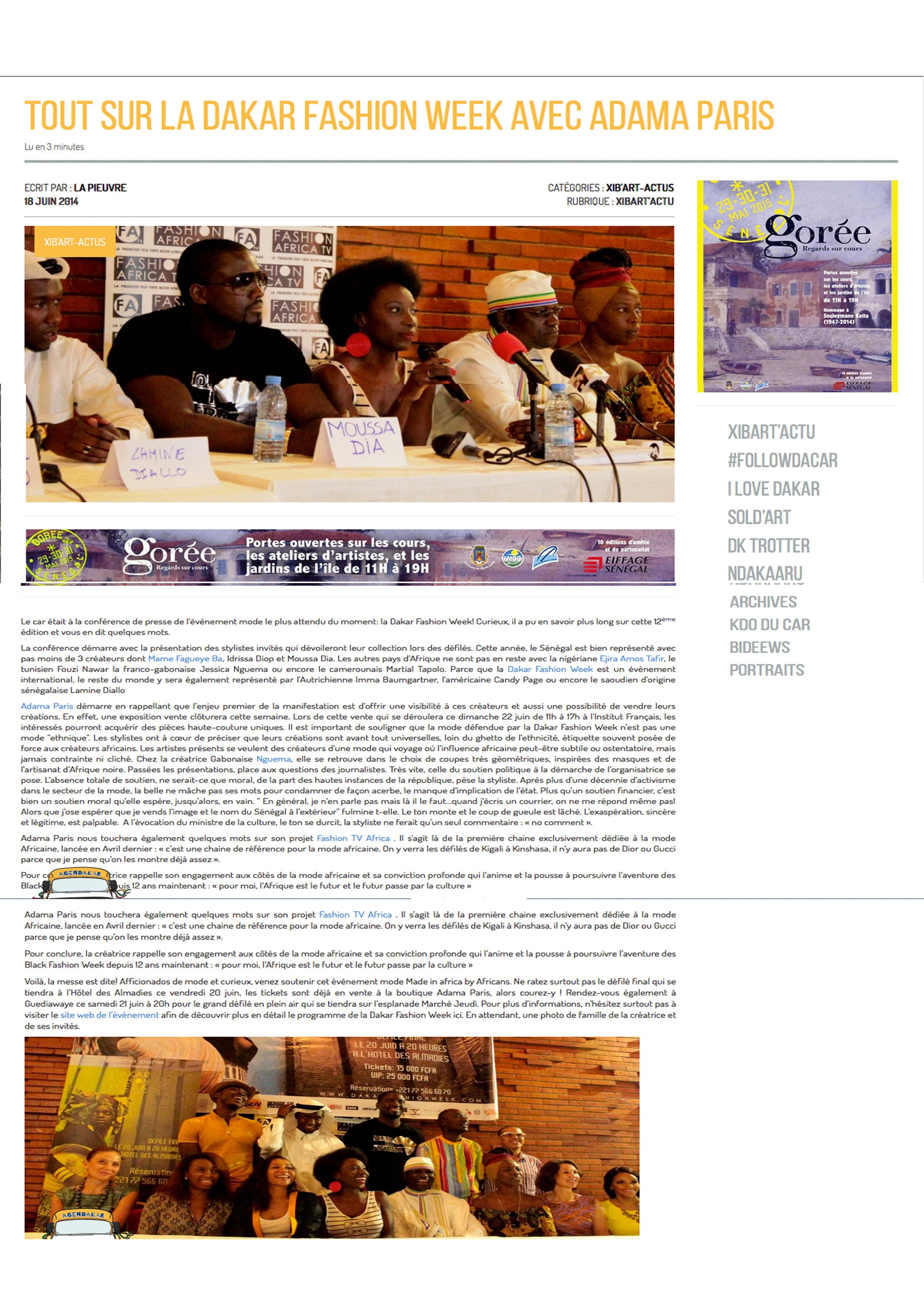 Copy of Xibart Webzine