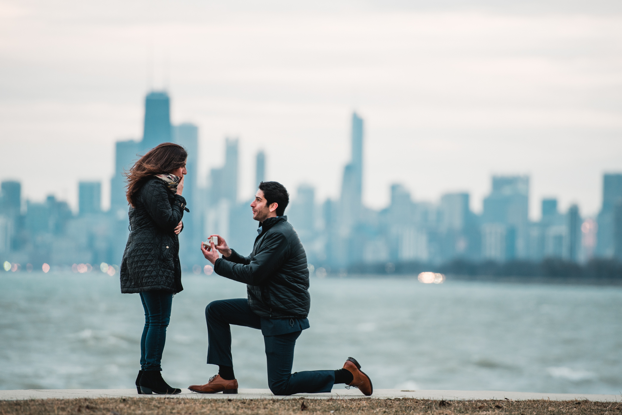heather hackney photography chicago surprise proposal franny and josh montrose harbor--14.jpg