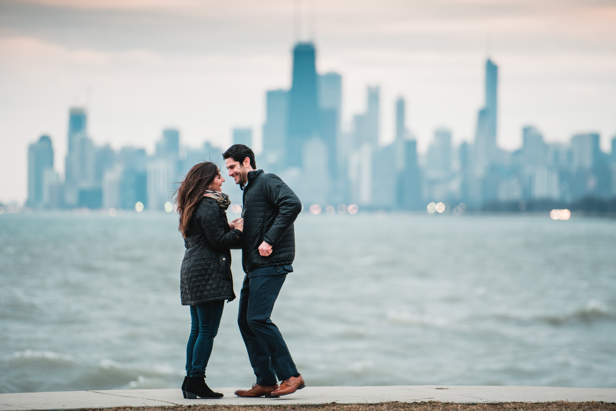 heather hackney photography chicago surprise proposal franny and josh montrose harbor--12.jpg