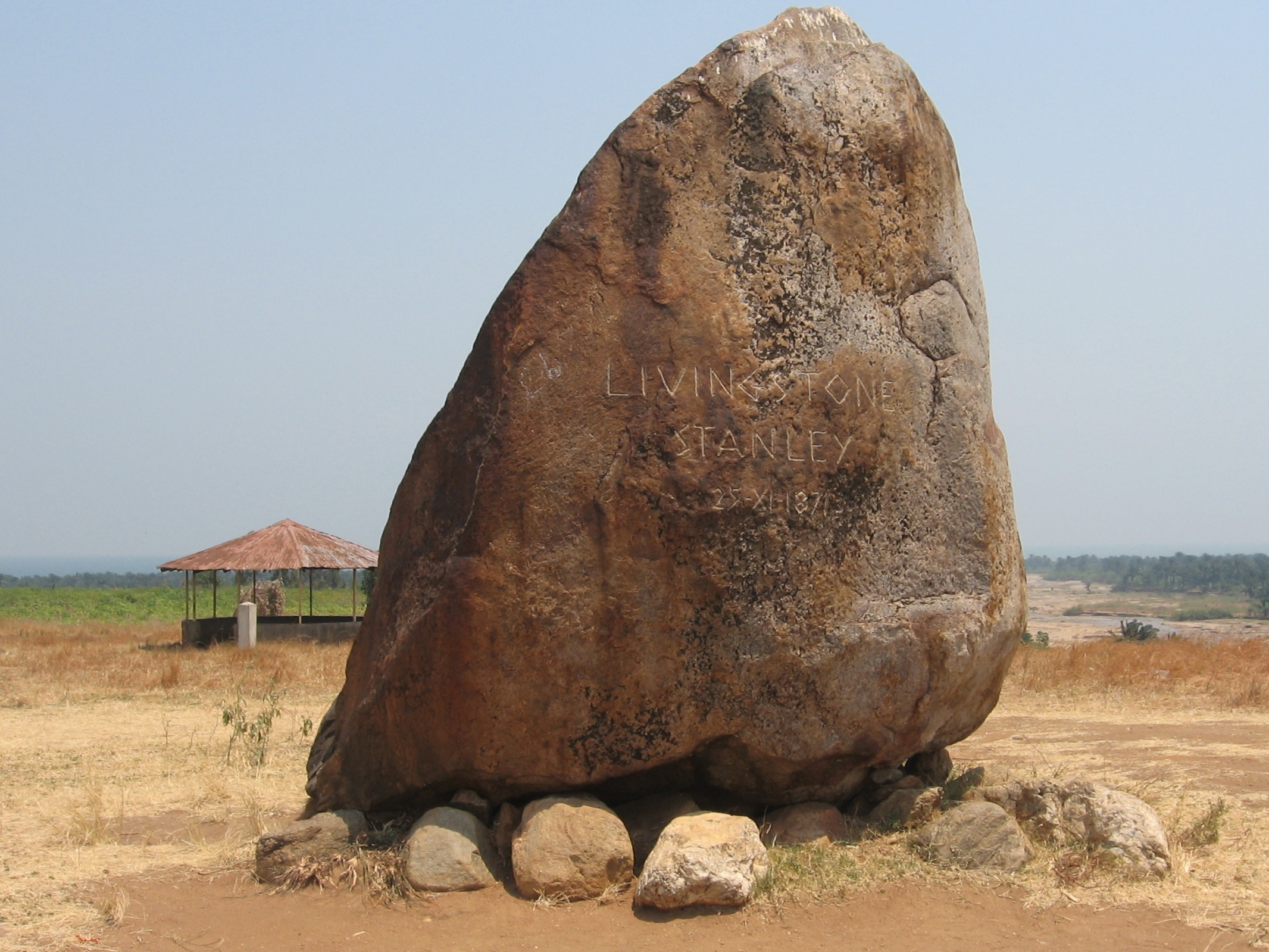 Monument Rock where Stanley met Livingstone