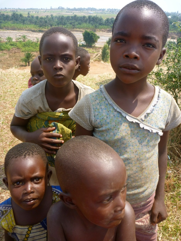 Children are everywhere in Burundi