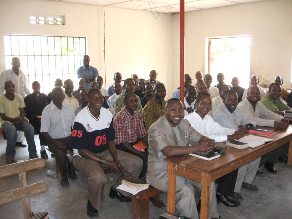 Pastor's Class in Uviru, Congo DR