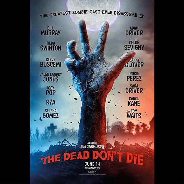 A whole bunch of people that I love to pieces ❤️ worked day and night for this one! The trailer is out today, but go and give them their rightful credits June 14 - when it's at a theater near you. The coolest zombies ever, I assure you guys ✌️ #thedeaddontdie #zombie #horror #yoga #meditation #animals #animalsrights #vegan #onlygoodvibes #love #peace #hardwork #business #businesswoman #haymakerfx