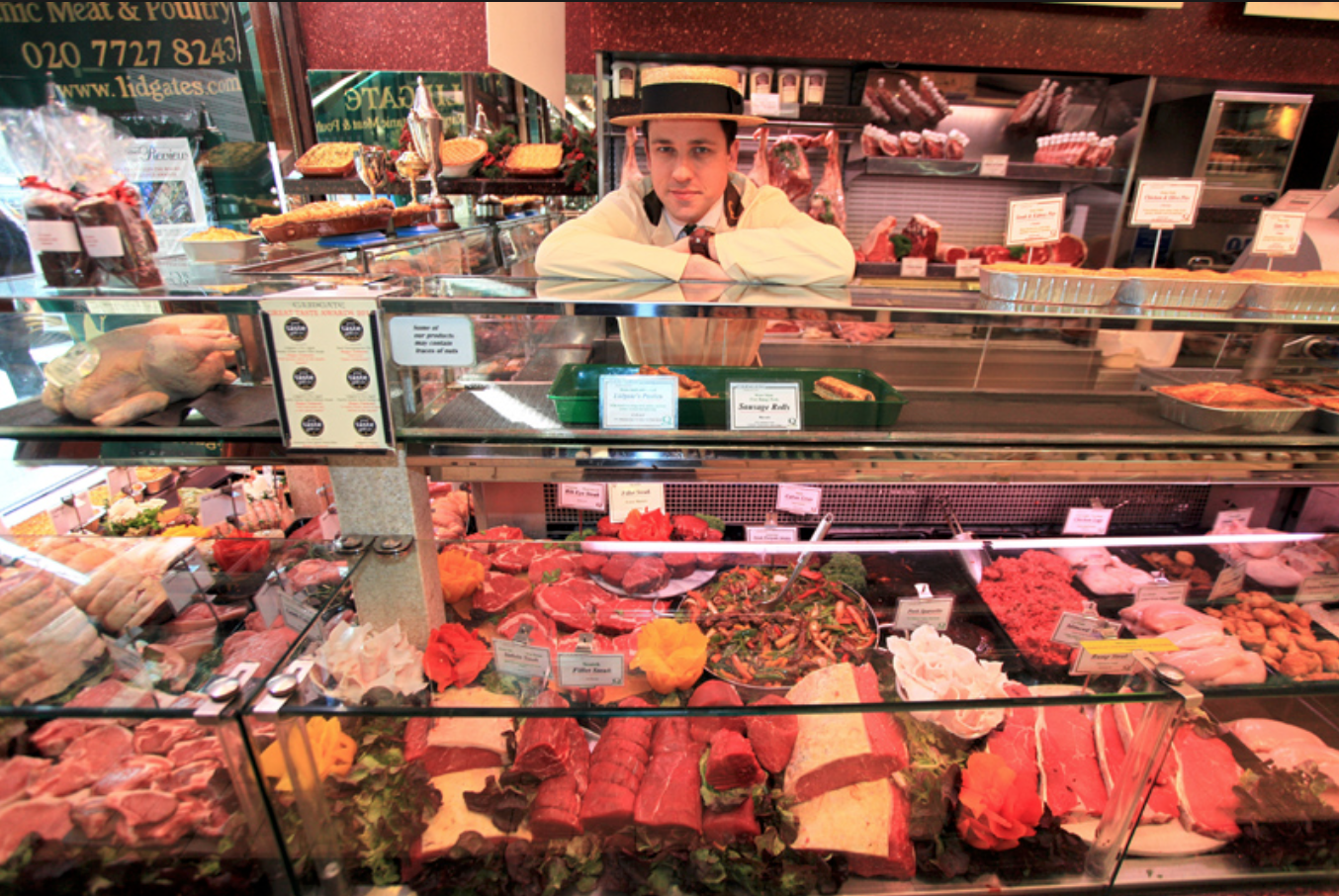 Lidgate Holland Park butcher