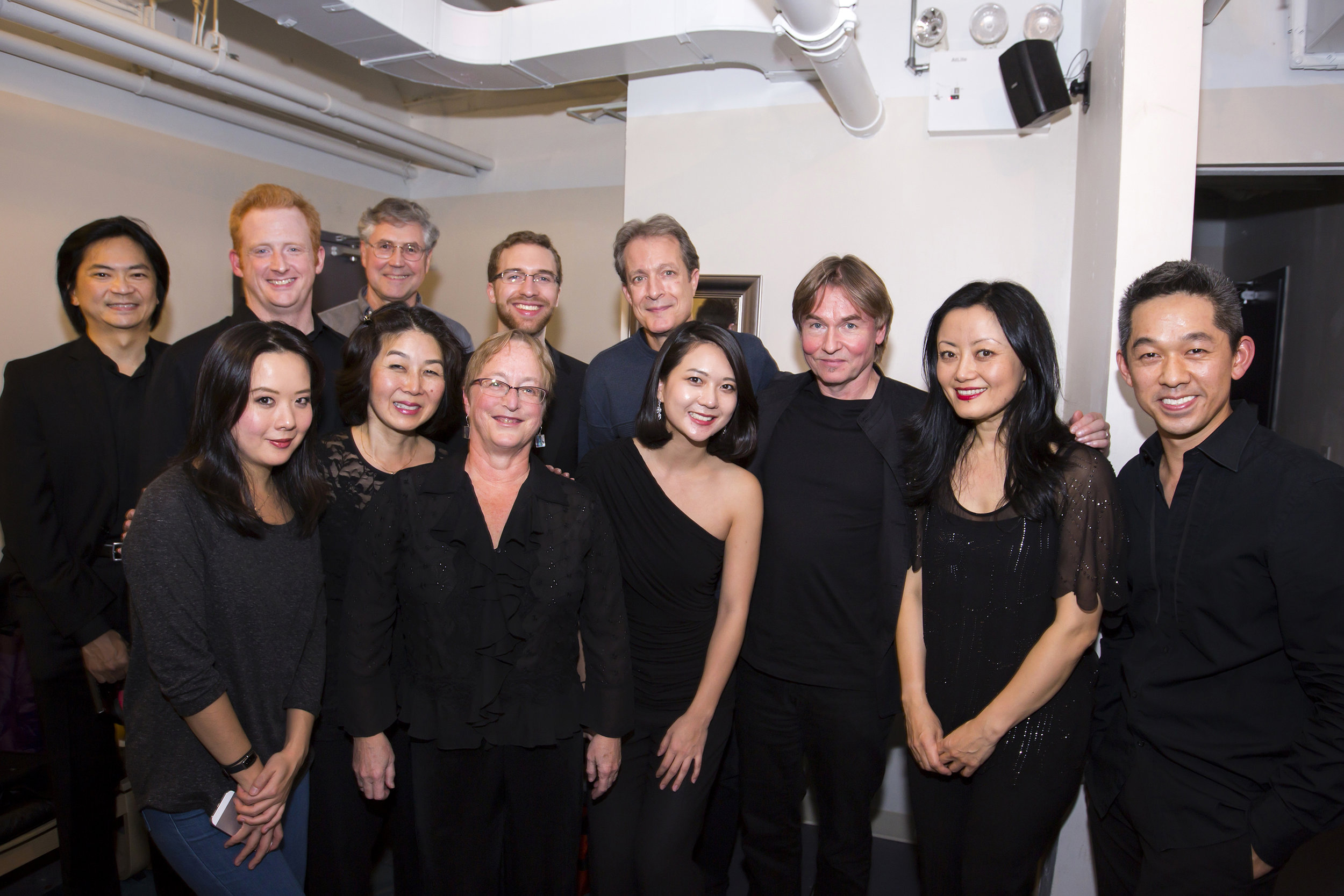 Esa-Pekka Salonen's tenure as Composer-in-Residence (2015–18) has fused composition with conducting and curating. Highlights include the New York Premieres–Philharmonic Co-Commissions of his  Karawane  (including on a Young People's Concert) and Cello Concerto with Yo-Yo Ma, and his conducting Messiaen's  Turangalîla-symphonie  during  Messiaen Week  and the Kaija Saariaho program  Circle Map  at Park Avenue Armory. Salonen is also advising on  CONTACT!  and, for the third and final season of his tenure, will curate a project for the 2018 NY PHIL BIENNIAL.
