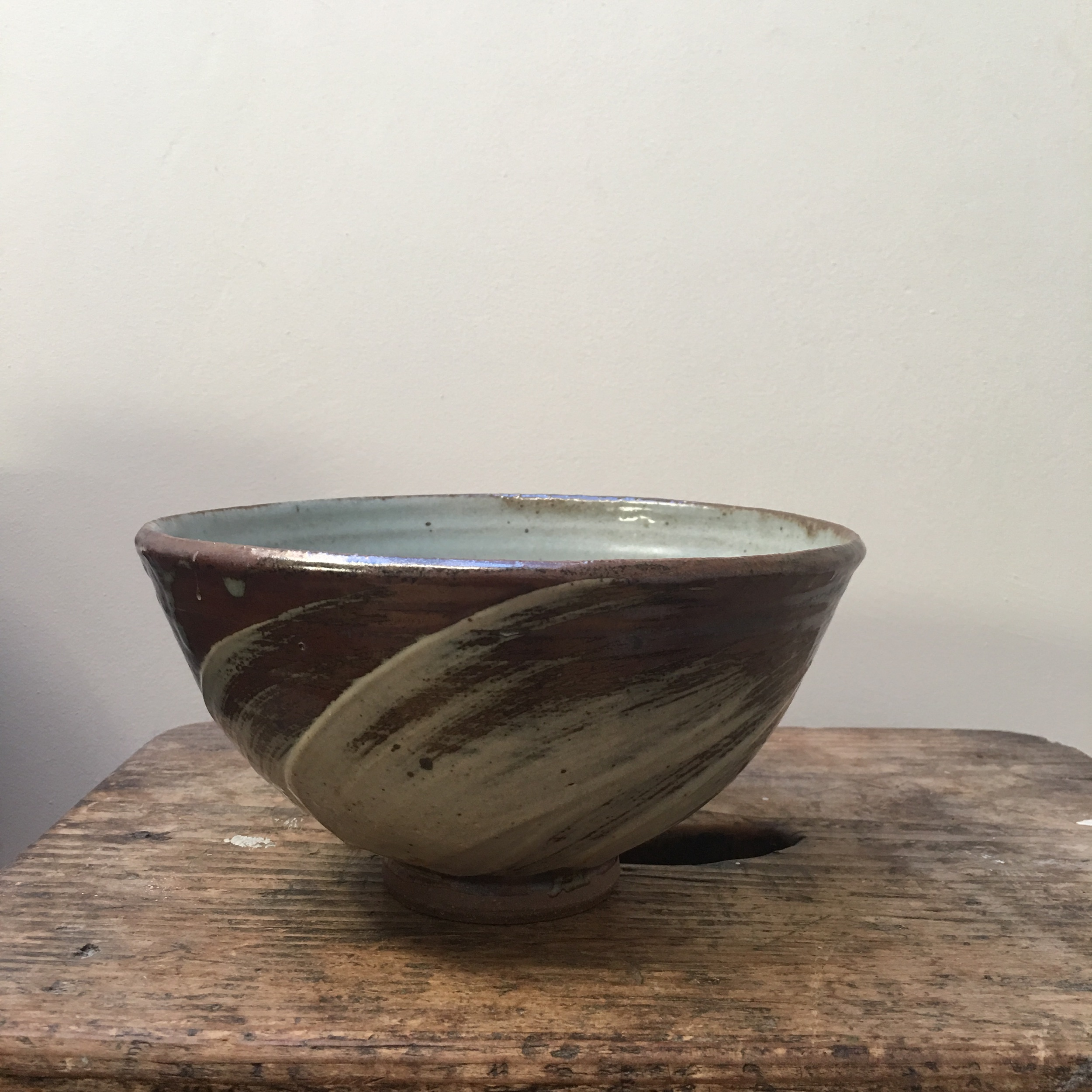 Part of a small body of work made during a masterclass with Roelof Uys at the Leach Pottery, St Ives in 2018