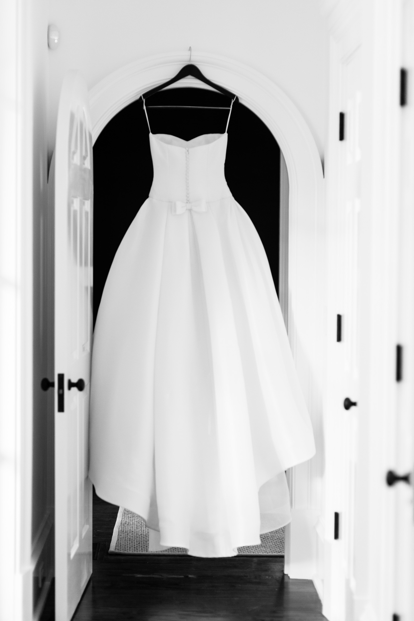 wedding gown photograph for kiawah island wedding