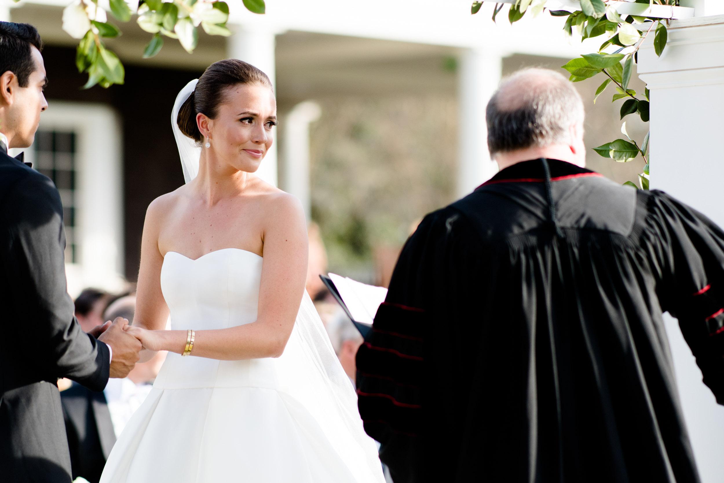 South Carolina southern wedding ceremony.