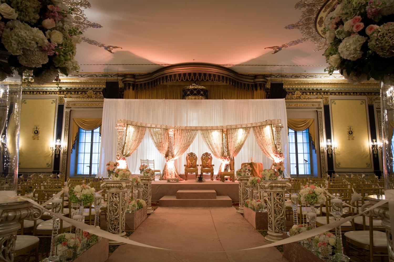 Palmer House Chicago Indian Wedding Ceremony