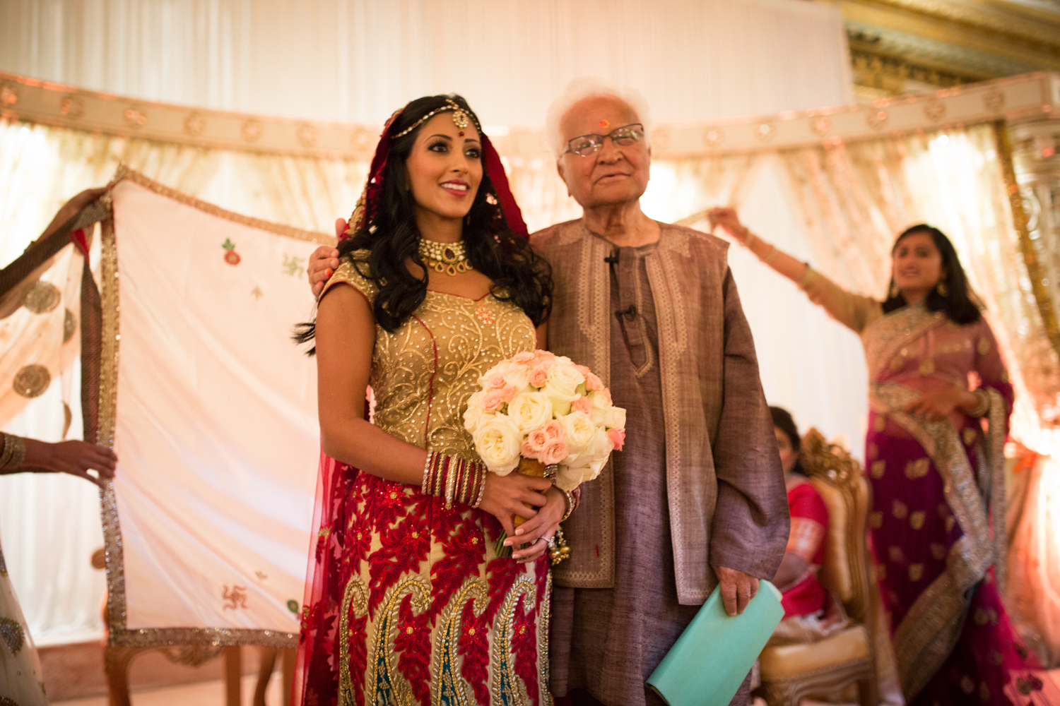 Indian wedding ceremony in Chicago at Palmer House