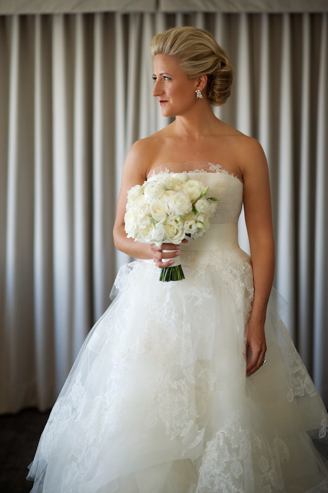 Bridal portrait at Four Seasons Chicago
