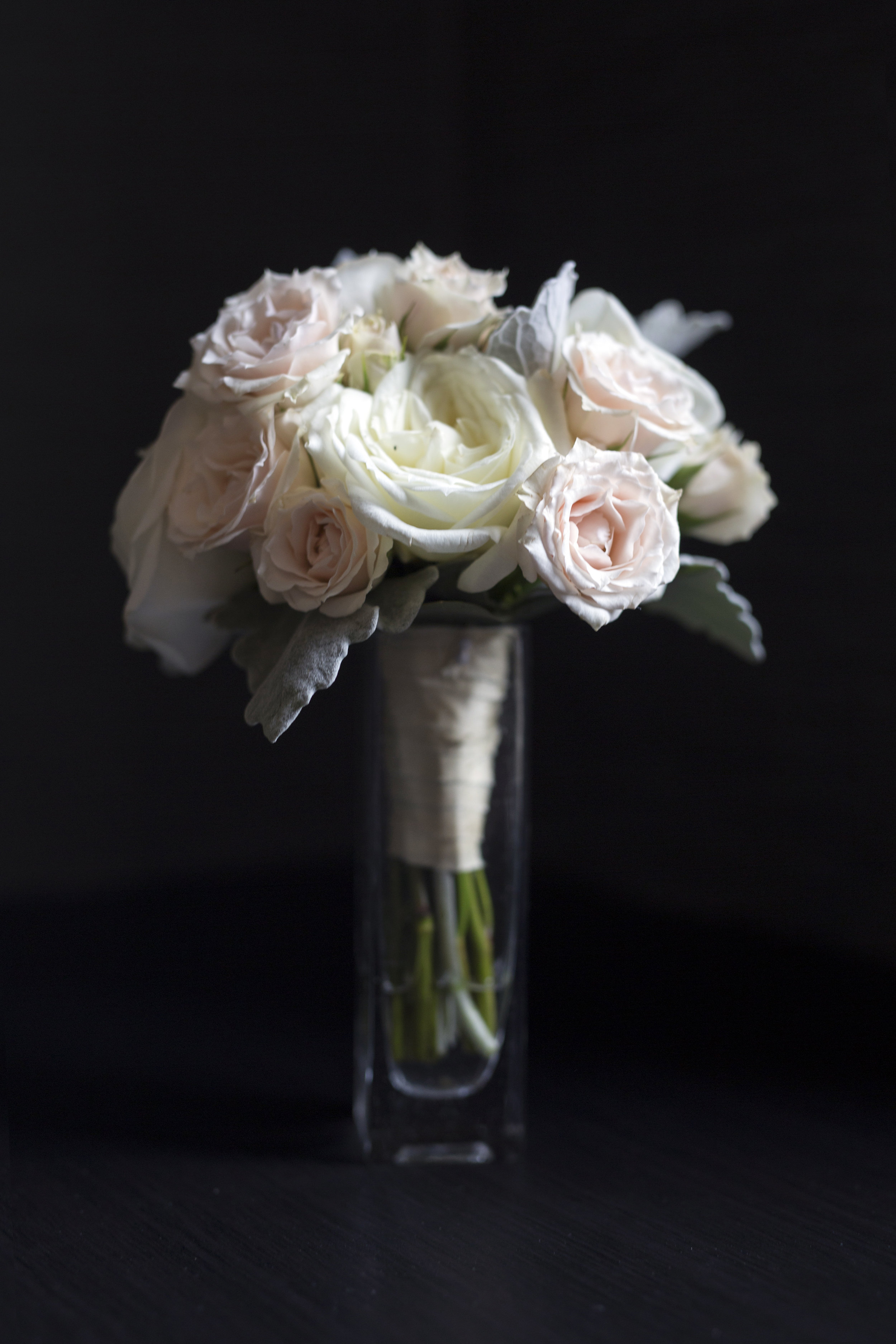 Bridal bouquet at InterContinental Chicago