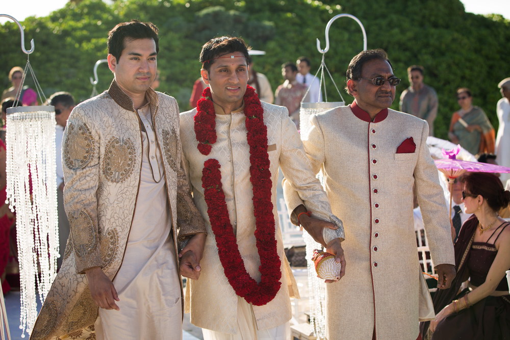 South Asian wedding ceremony in Riviera Maya, Mexico
