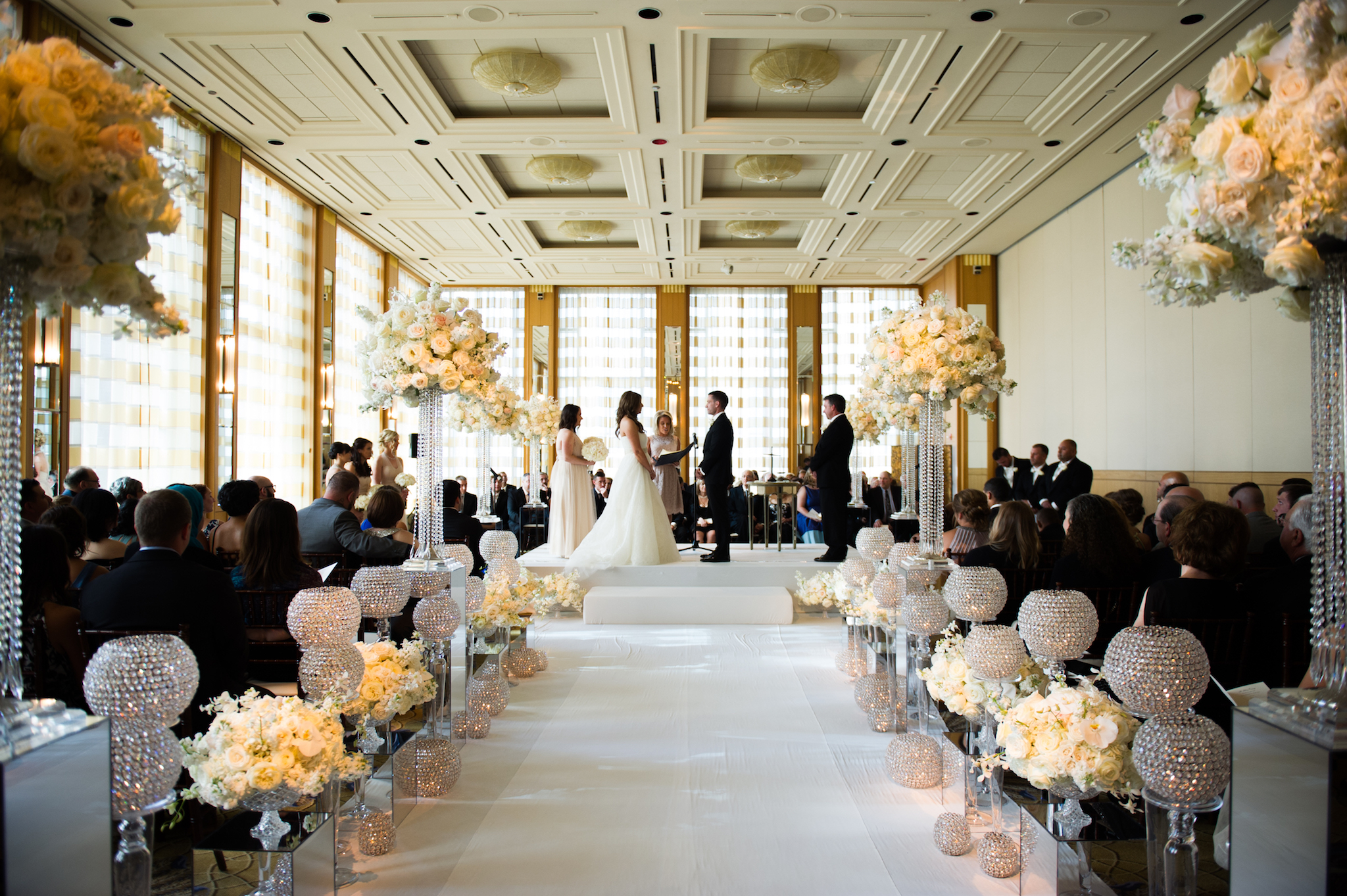 peninsula chicago wedding ceremony