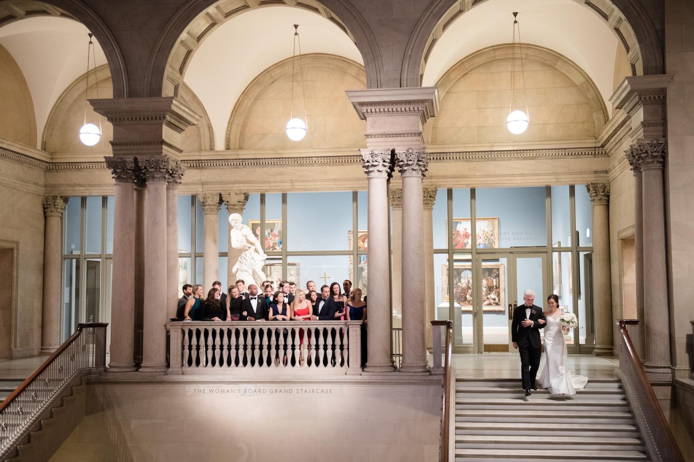 Art Institute Wedding Ceremony